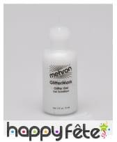 Gel paillettes professionnel Mehron flacon 15 ml, image 4