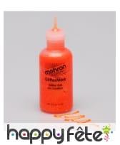 Gel paillettes professionnel Mehron flacon 15 ml, image 5