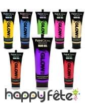 Gel phosphorescent pour cheveux