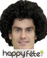 Grosse perruque pop/afro noire