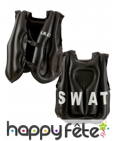 Gilet SWAT gonflable taille adulte