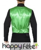 Gilet vert à sequins pour homme, image 1