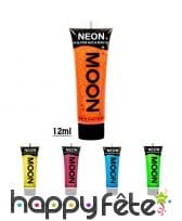 Gel visage et corps paillettes UV, Moonglow