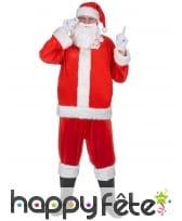 Haut, bonnet et barbe de père Noël, image 2