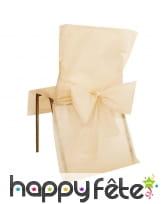Housses de chaise avec noeud, 50x95cm, image 5