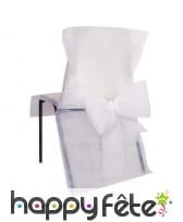Housses de chaise avec noeud, 50x95cm, image 1
