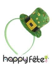 Haut de forme St Patrick sur serre tête, image 2