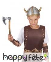 Hache de viking imitation bois pour enfant, image 1