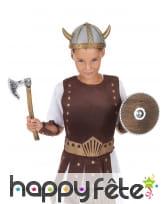 Hache et bouclier de viking pour enfant, image 1