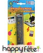 Harmonica en métal