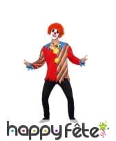 Haut, noeud papillon et masque de clown sinistre, image 1