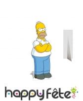 Homer Simpson en carton taille réelle