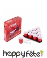 Jeu à boire beer pong