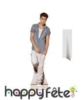 Justin Bieber carton taille réelle