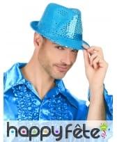Justin bleu clair recouvert de sequins, image 2
