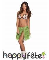 Jupe courte hawaïenne en raphia pour adulte, image 3
