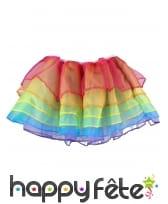 Jupon en tulle bouffant multicolore pour femme, image 1