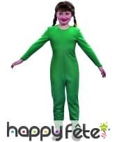 Justaucorps enfant vert