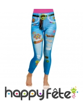 Jeggings hippie peace and love
