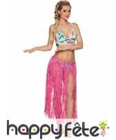 Jupe longue hawaïenne en raphia pour adulte, image 2