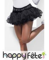 Jupon noir femme sexy