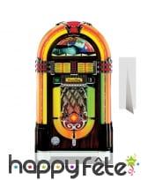 Jukebox taille réelle en carton plat