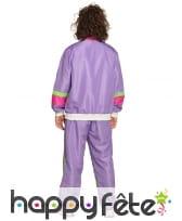 Jogging violet années 80 pour homme, image 1
