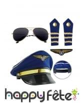 Kit accessoires de pilote pour adulte