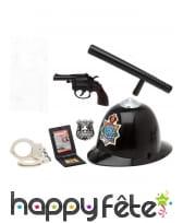 Kit accessoires de policier SWAT