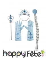 Kit accessoires princesse des neiges pour enfant, image 1