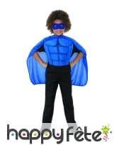 Kit bleu de super héro pour enfant