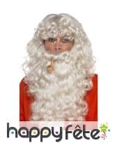 Kit barbe et accessoires de père Noël