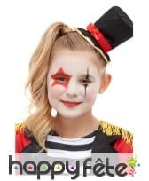 Kit cosmétique Monsieur Loyal pour enfant