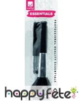 Kit cosmétique pinceau blush, angle et précision