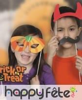 Kit de 10 photobooths sur le thème Halloween, image 1