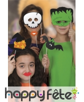 Kit de 10 photobooths sur le thème Halloween, image 2