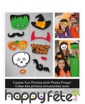 Kit de 10 photobooths sur le thème Halloween, image 3