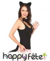 Kit d'accessoires chat noir pour femme, image 1