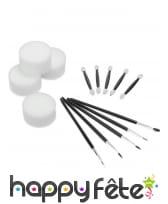 Kit d'accessoires de maquillage avec trousse, image 1