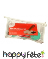 Kit d'accessoires de maquillage avec trousse, image 2