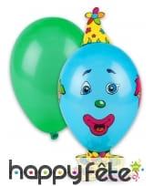 Kit de ballons bonhomme à décorer
