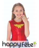 Kit de bijoux Wonder Woman pour fille