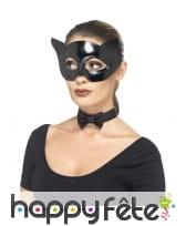 Kit de chat noir masqué