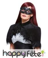 Kit de corbeau, capeline et masque