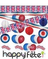 Kit de décoration Angleterre