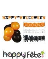 Kit de décoration Halloween pour vitrine