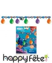 Kit de décorations d'anniversaire le monde de Dory