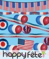 Kit de décorations Etats-unis