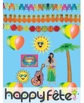 Kit de décorations Hawaïenne