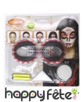 Kit Dia de los muertos de maquillage